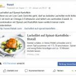 fitatall bringt aktuelle Rezepte auch auf facebook